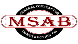 Logo MSAB Construction Company
