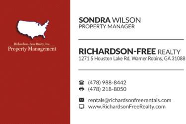 Business Card Design by Creative Webdesign | Warner Robins, GA