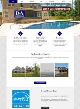 Portfolio Webdesign D&A Development