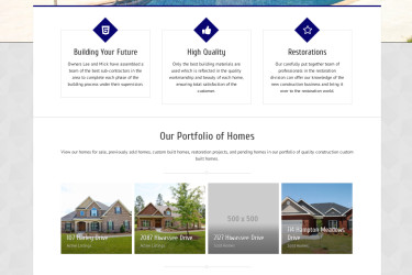 Portfolio Webdesign D&A Development