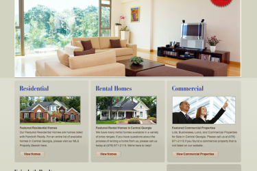 Website Design Faircloth Realty