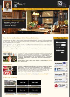 Portfolio Website Design MistyWingate.com
