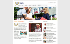 Website Design School of Real Estate