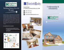 Trifold Design Hughston Homes