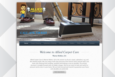 Website Allied Carpet Care