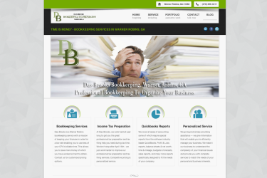 Website Das-Brooks Bookkeeping