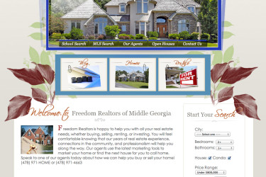 Website Freedom Realtors of Georgia