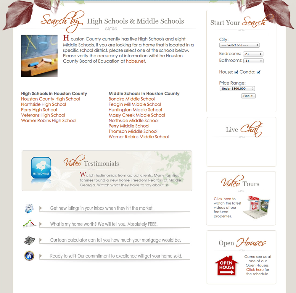 Website Freedom Realtors of Georgia