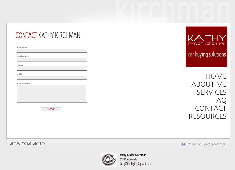 Website Kathy Kirchman