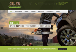 Giles Outdoor Equipment